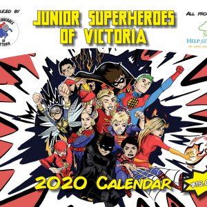 2020 Junior Superheros Calendar